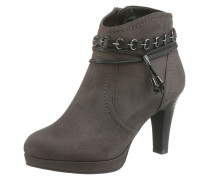Ankle-Boot anthrazit