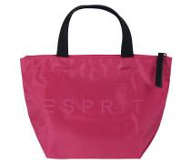 Handtasche 'Cleo' pink / schwarz
