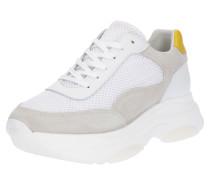 Sneaker grau / offwhite