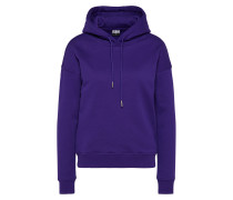 Schlichtes Sweatshirt lila