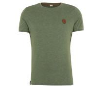 T-Shirt 'Halim Trabando' grasgrün