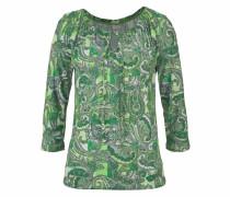 3/4-Arm-Shirt grün
