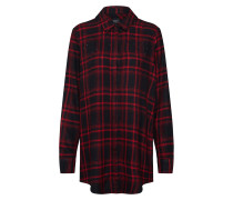 Bluse 'onlROCK IT Loose LS Check Glit Shirt Dnm'