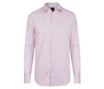 Modernes Hemd pink / weiß
