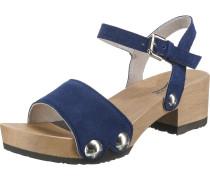 'Penny' Plateau-Sandaletten blau