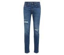 Jeans 'slim STR Ltwt Laser Patch Destroy'