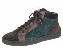 Sneakers dunkelgrau / braun / blau
