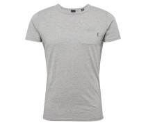 T-Shirt 'Ams Blauw 1 pocket tee in colours with XXX embro'