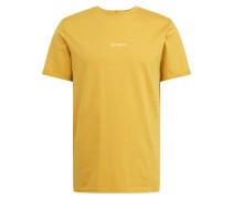 T-Shirt 'Lens' gelb