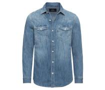 Jeanshemd 'denim Hemd' blau
