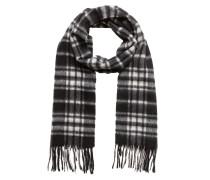 Schal schwarz / weiß
