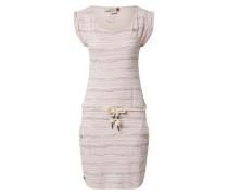 Kleid 'Tag Sea' dunkelgrau / pink / rosa