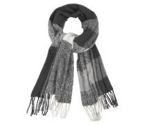 Modeschal grau / schwarz