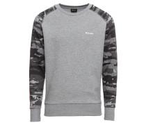 Sweatshirt 'Casey' grau / graumeliert