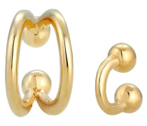 Ohrringe Earcuff Minimal gold