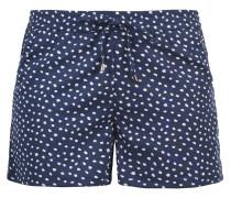 Shorts 'Amal' dunkelblau / weiß
