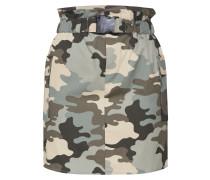 Rock 'onllene Camo Short Skirt Wvn' grün