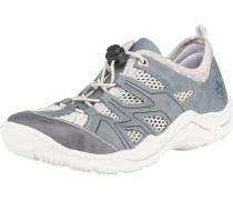 Sneaker rauchblau / silber / weiß