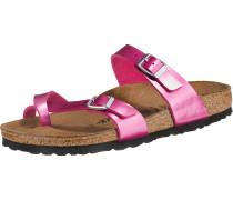 Pantoletten 'Mayari' pink