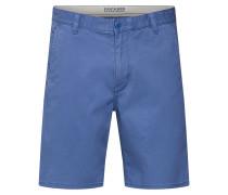 Hose 'alpha Short - Stretch Twill' blau