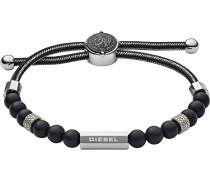Armband 'dx1151040' schwarz / silber