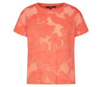 T-Shirt 'tropicana' koralle