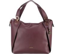 Handtasche 'Bonnie' burgunder