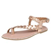 Sandale gold / rosé