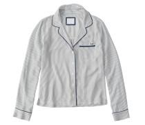 Schlafhemd 'menswear LS Shirt'