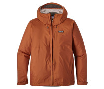 Outdoorjacke 'Torrentshell' dunkelorange