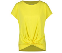 T-Shirt 1/2 Arm Shirt mit Wickeleffekt