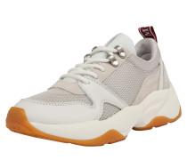 Sneaker greige / hellgrau