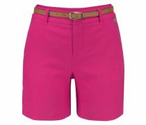 Shorts (Set 2 tlg. mit Gürtel in Lederoptik)