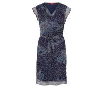 Kleid navy / rauchblau