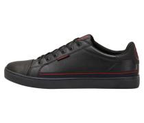 Sneaker feuerrot / schwarz
