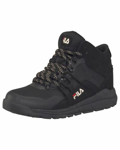 Sneaker 'Delta Mid' schwarz