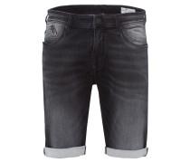 Shorts 'Leom' black denim