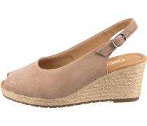 Sandaletten rosé / beige