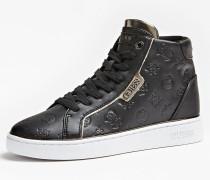 Sneaker 'Brina' gold / schwarz