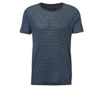 T-Shirt kobaltblau / blue denim