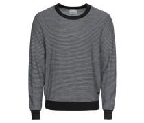 Pullover 'london' dunkelblau / weiß