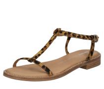 Sandale beige / braun / schwarz