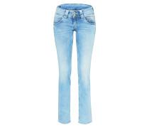 'Venus' Straight Leg Jeans blue denim
