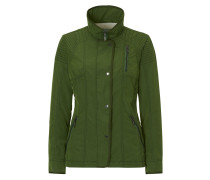 Jacke im Biker-Stil hellgrün