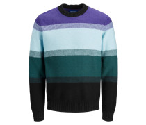 Colourblocking Pullover lila