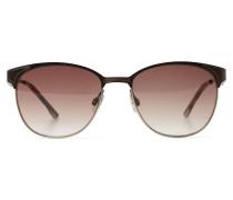 Sonnenbrille kastanienbraun