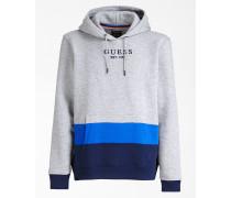 Sweatshirt blau / marine / graumeliert
