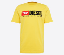 T-Shirt 't-Just-Division' gelb