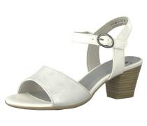 Klassische Sandaletten weiß