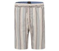 Pyjamahose mischfarben / beige